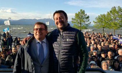 Matteo Salvini a Desenzano per Malinverno