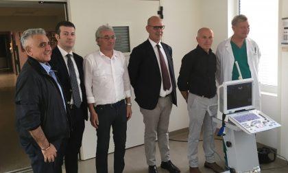 Nuovo ecografo per l'ospedale di Gavardo