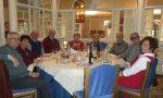 Grande partecipazione al tradizionale pranzo sociale