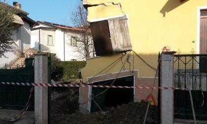 Rivoltella: crolla casa, operaio miracolato