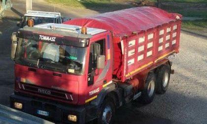 Rubato camion all'impresa Tommasi di Sedena