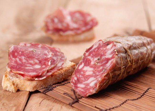 Allarme salmonella, il Ministero della Salute richiama lotto di salame