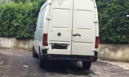 Salò, sequestrato furgone rubato