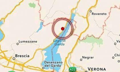Forte scossa di terremoto nel lago di Garda