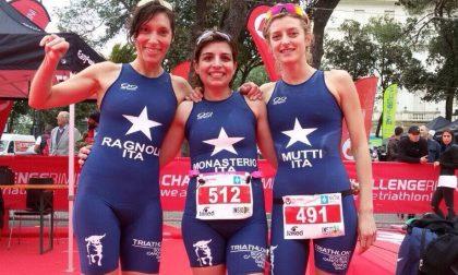 Triathlon: esordio per le ragazze della Canottieri