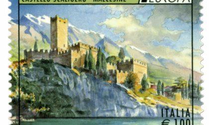 Un francobollo per il castello di Malcesine