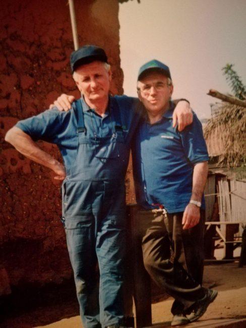 Viaggio di un volontario desenzanese in Africa