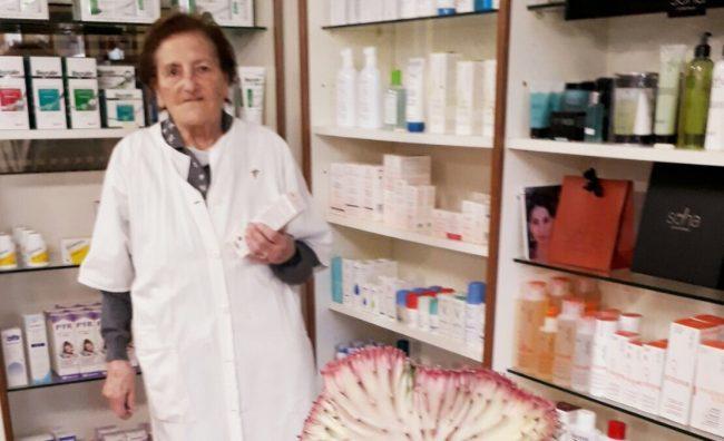 Maria, storica farmacista di Pozzolengo