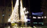 L'albero di luci è realtà Una festa per inaugurarlo