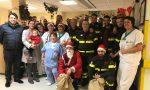 Pompieri in pediatria per il Natale dei più piccoli