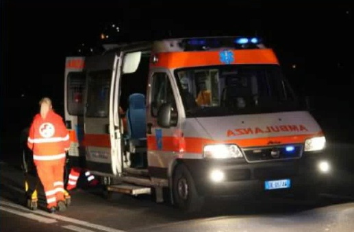 Incidente a Padenghe SIRENE DI NOTTE
