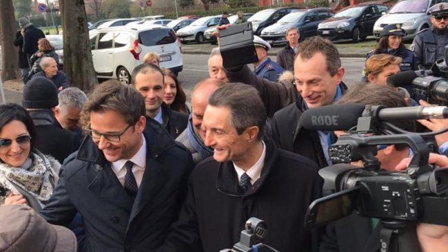 Elezioni Lombardia 2018 prima uscita per Attilio Fontana