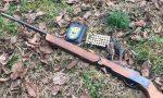 Arrestato bracconiere che sparava con arma clandestina
