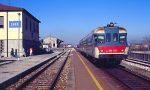 Treno fermo in campagna per un urto enigmatico