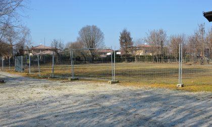 Al via i lavori per il nuovo campo sportivo di Cigole