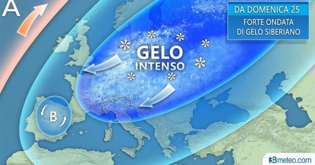 Neve su tutta la provincia: per gli esperti sarà un evento eccezionale