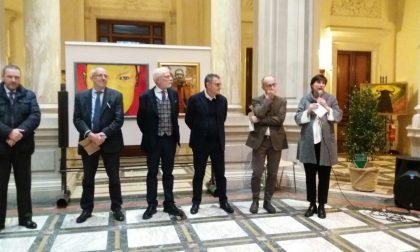 Inaugurata la mostra del clarense Angelo Bruno Loda