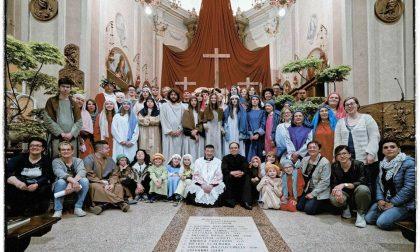 Via Crucis vivente Visano rinnova l'emozione