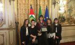 Studentesse covatesi premiate al Quirinale