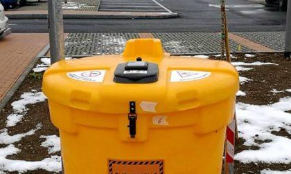 Nuovo contenitore per la raccolta dell'olio a Chiari