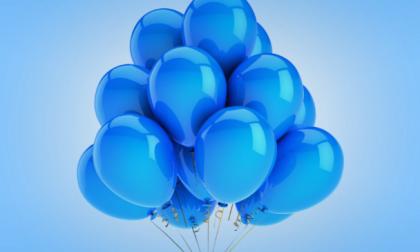 Giornata mondiale autismo: in aria palloncini blu