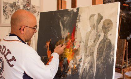 Tiziano Calcari a Chiari con la sua Opera Omnia