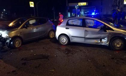Incidente a Castel Goffredo: due auto a pezzi