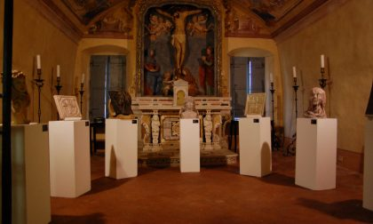 Arte sacra inaugurata la mostra della scuola Ricchino