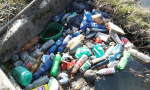 Nuovo caso di abbandono rifiuti nella roggia Cesaresca
