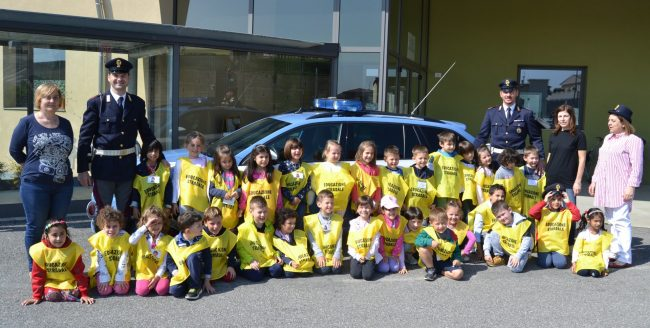 Educazione stradale con i giovani alunni di Adro