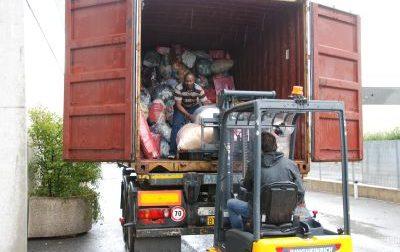 Da Capriolo e Paratico un container per aiutare il Ghana