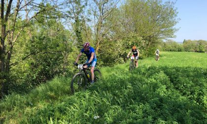 Gara mountain bike sezionale per gli Alpini