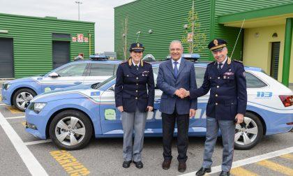 Nuove auto per la Polizia Stradale di Chiari