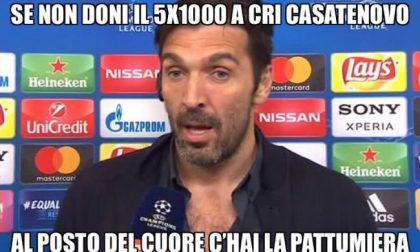 Gigi Buffon testimonial… della Croce Rossa
