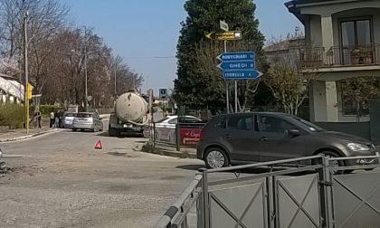 Semaforo verde non funzionante in via Zilie a Calvisano