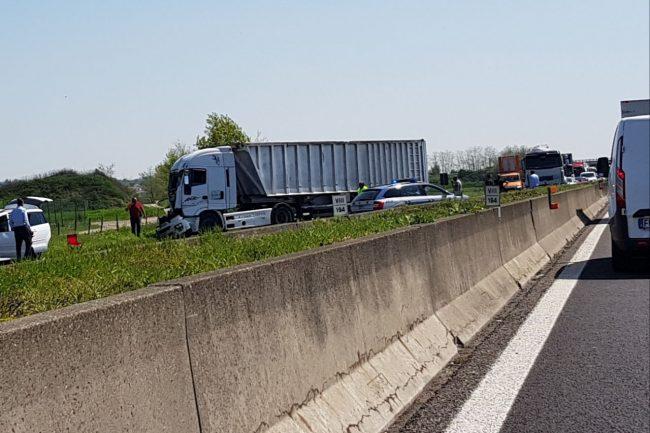 Incidente in A4 tra Palazzolo e Rovato