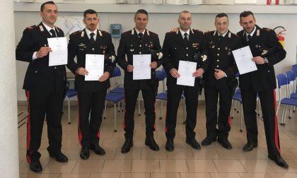 Consegnati gli encomi ai carabinieri della Compagnia di Chiari