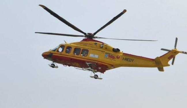 Incidente a Padenghe, chiamato l&#8217&#x3B;elisoccorso