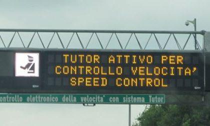 Niente più tutor ma continueranno i controlli sulla velocità