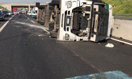 Incidente Brebemi, chiusa la A35 direzione Brescia