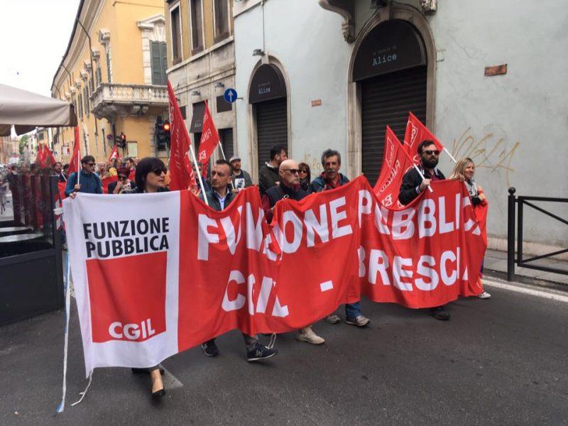 Primo maggio sindacati in piazza per la sicurezza sul lavoro