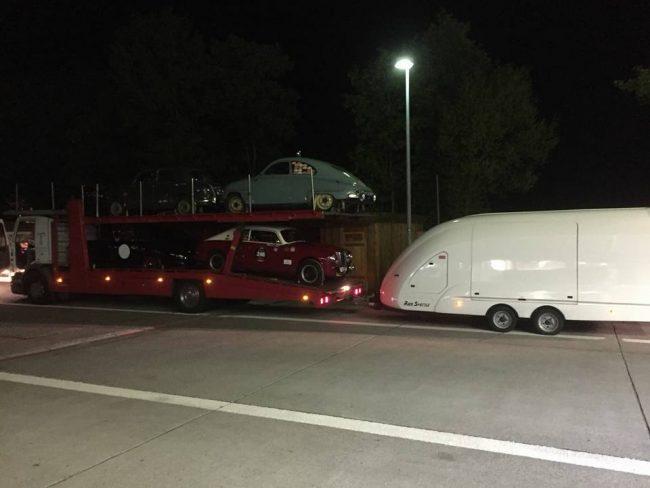 Auto mille miglia rubata