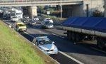 Tir esce di strada: A4 bloccata a Brescia, ora circolazione ripresa