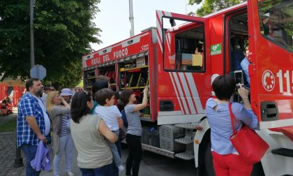 Giornata del bambino pompiere, a Orzinuovi