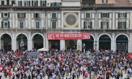 Strage di Piazza Loggia, 44 anni dopo il ricordo. Alle 10.12 i rintocchi per non dimenticare