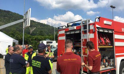 Maxi esercitazione organizzata da Protezione Civile Cologne