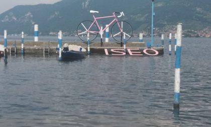 Giro d'Italia, Iseo si prepara alla tappa LE FOTO