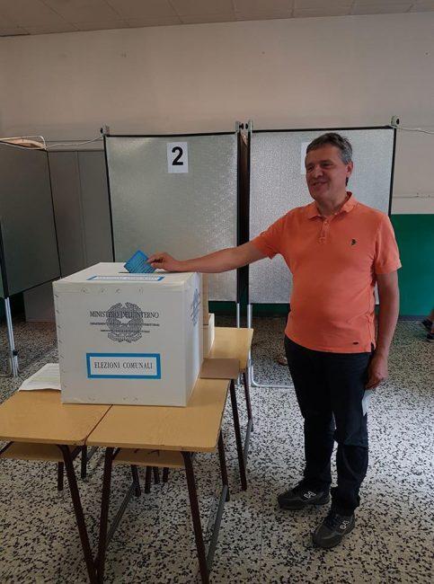 Italo Spalenza al voto