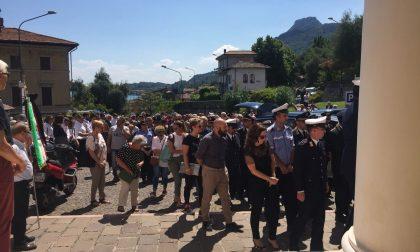 Toscolano Maderno in lutto per i funerali di Gino Zanardini