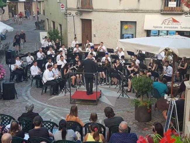 Banda musicale di Orzinuovi in trasferta a Tignale